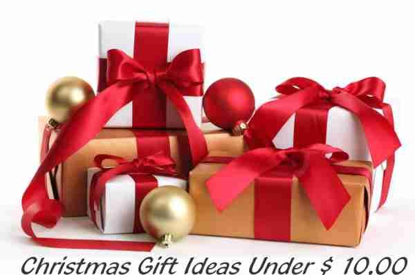 Gifts Under $ 10.00