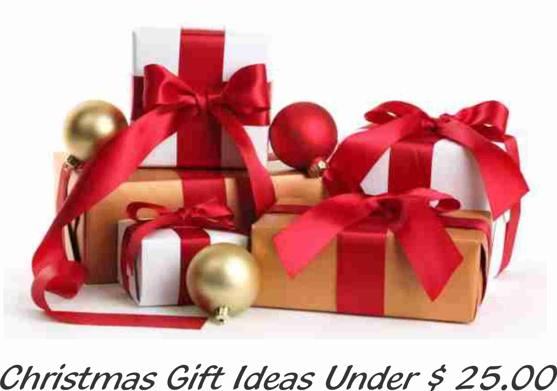 Gifts $10.00 to $ 25.00