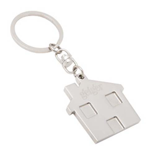 House Shape Key Rings