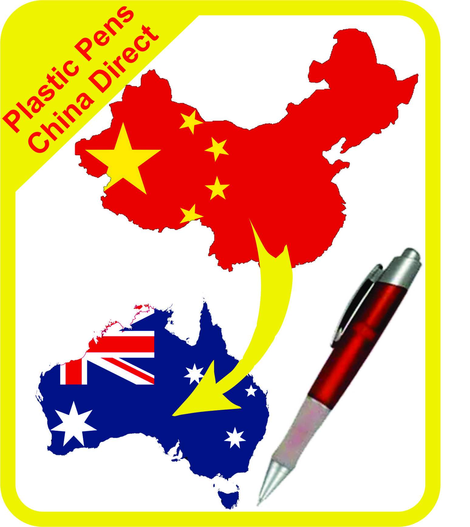 Plastic Pens China Direct