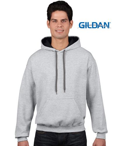 Gildan Contrast Pullover Hoodie