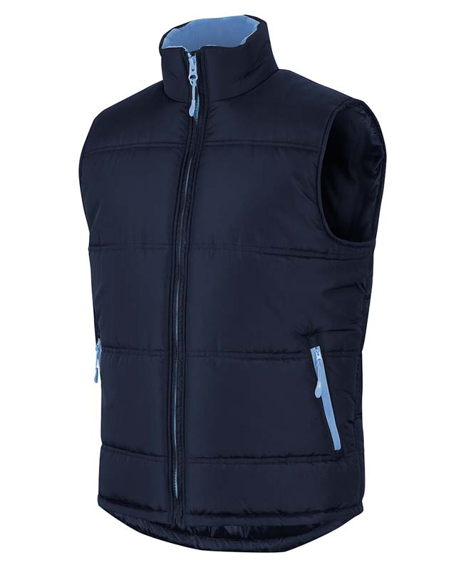 Puffer Contrast Vest