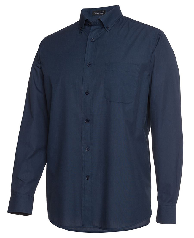 Poly/Cotton Fine Chambray Shirt