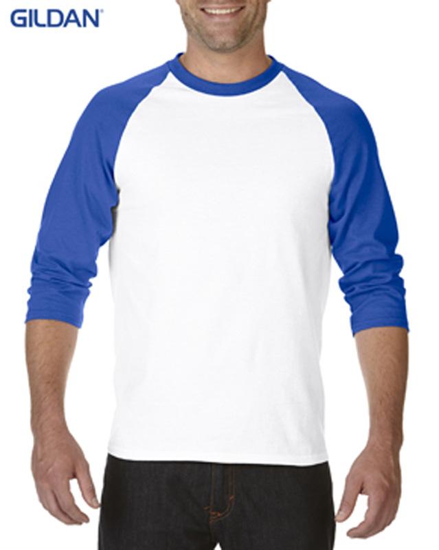 Gildan Raglan 3/4 Sleeve T-Shirt