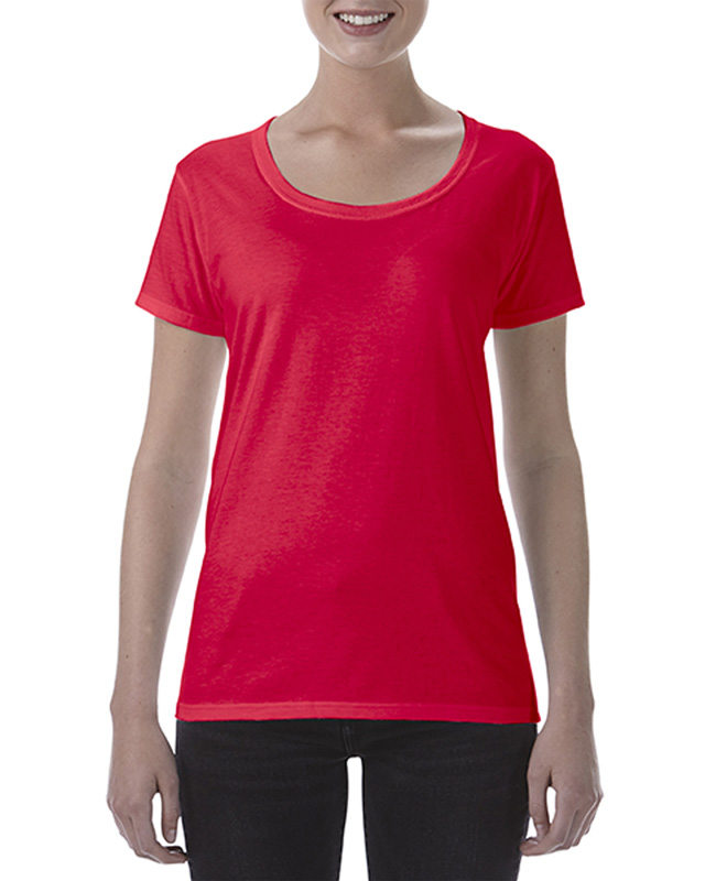 Gildan Ladies' Deep Scoop T-Shirt