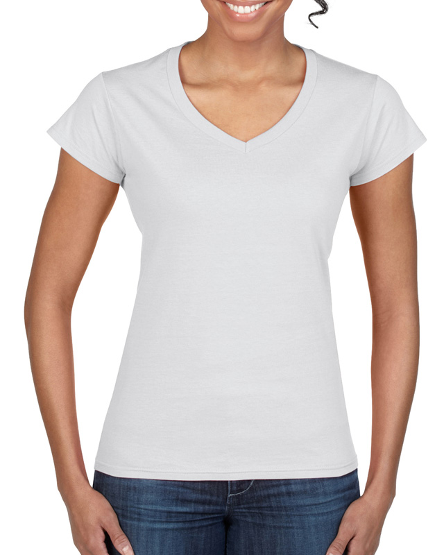 Gildan Ladies' V-Neck T-Shirt