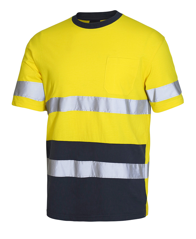 JB Cotton T-Shirt with Tape