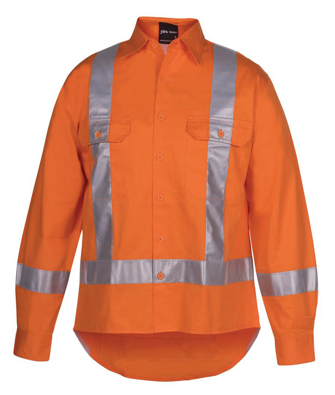 JB Hi Vis Long Sleeve TTMC-W Tape Shirt