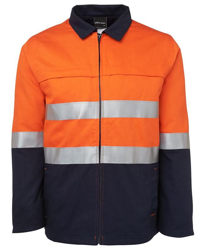 JB Hi Vis Cotton Jacket