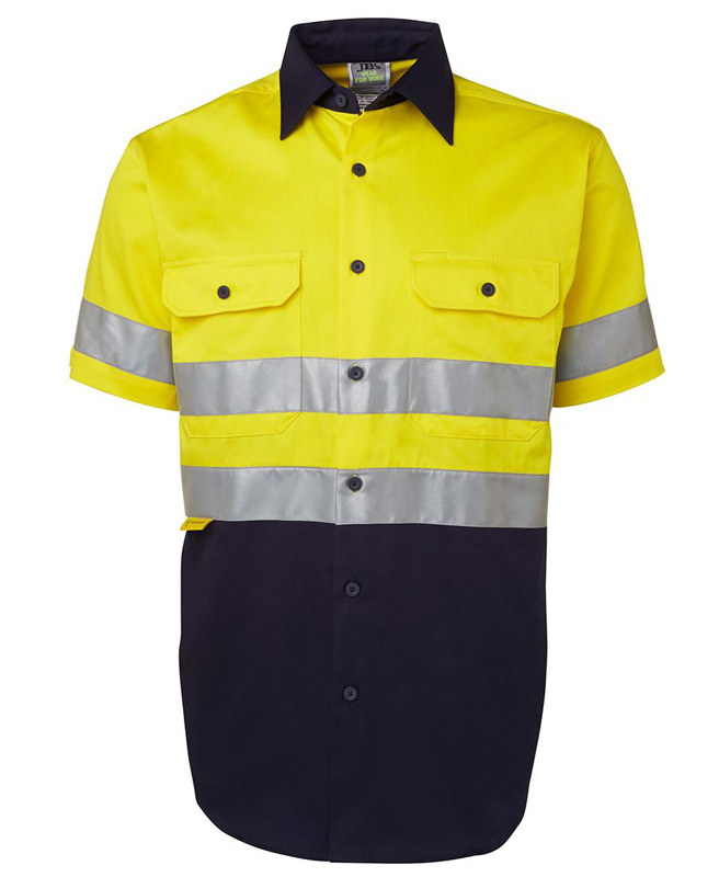 JB Hi Vis Long & Short Sleeve 190G Shirt 3M