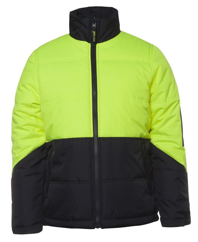 JB Hi Vis Puffer Jacket