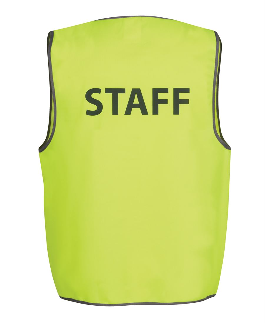 JB Hi Vis Safety Vest Security/Staff/Visitor