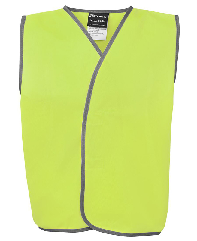 JB Hi Vis Safety Vest (Kids)