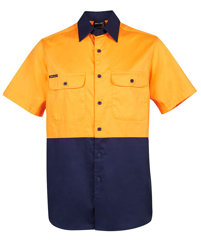 JB Hi Vis Short Sleeve Shirt 150G