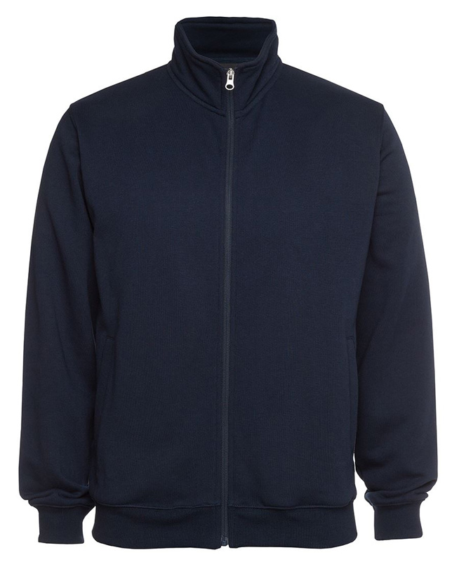 Poly Cotton Full Zip Jacket