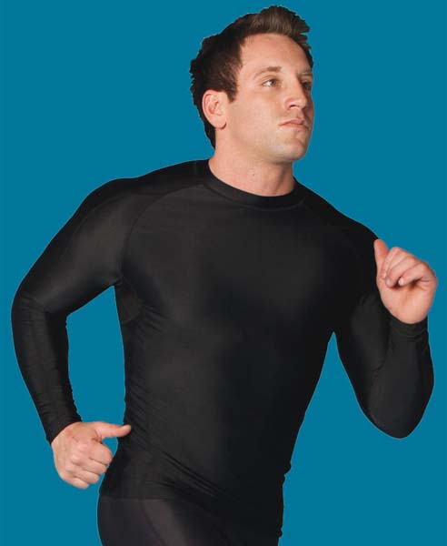 Black Long Sleeve Performance Top