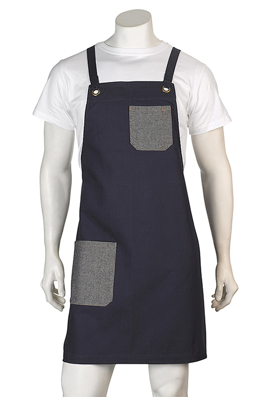 Brooklyn Canvas Bib