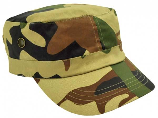 Camo Military Cap