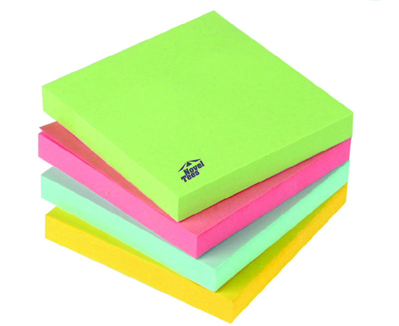 Printed Coloured Post it Note