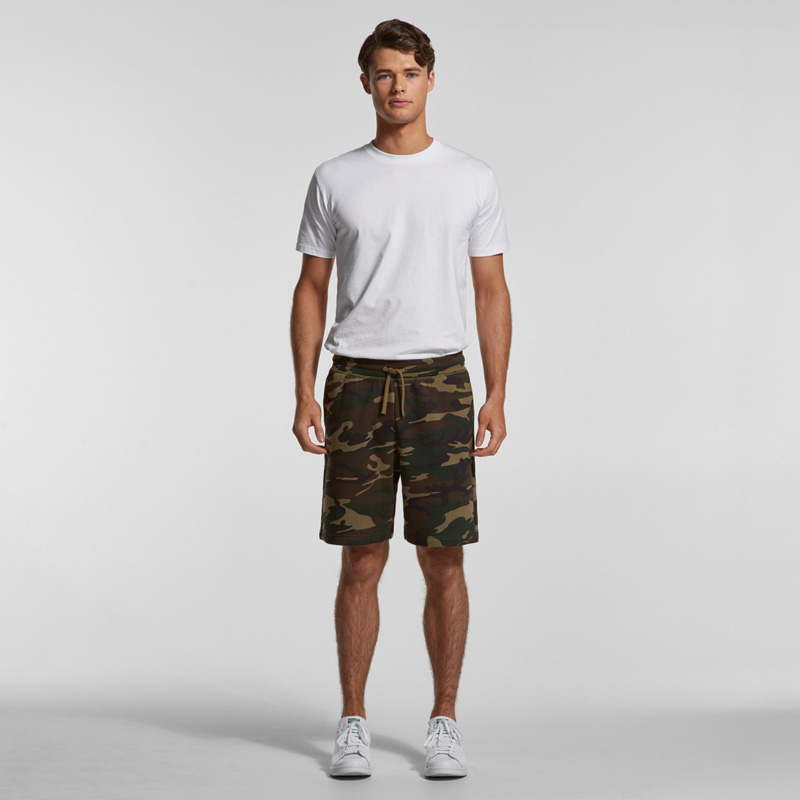 AS Colour Stadium Camo Shorts