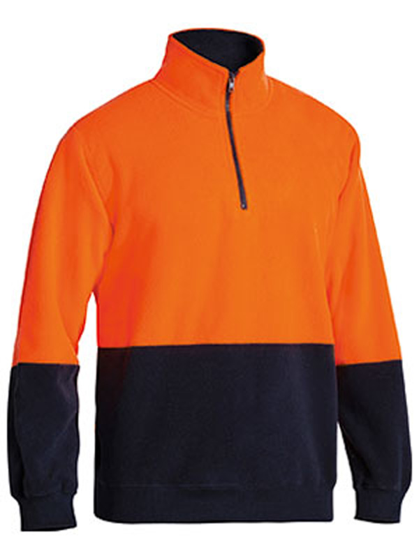 Bisley Half Zip Pullover Polar Fleece