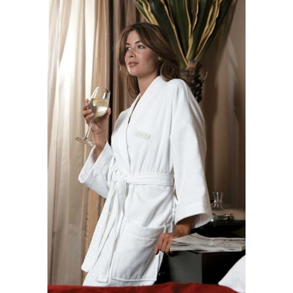Luxury Terry Bathrobe