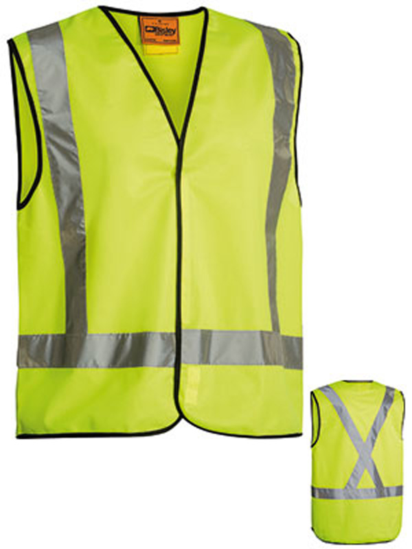 Bisley Lightweight Taped Hi Vis Vest
