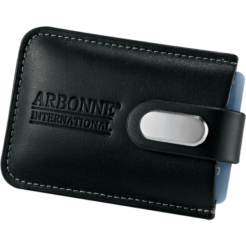 Executive Leather Business Card Case