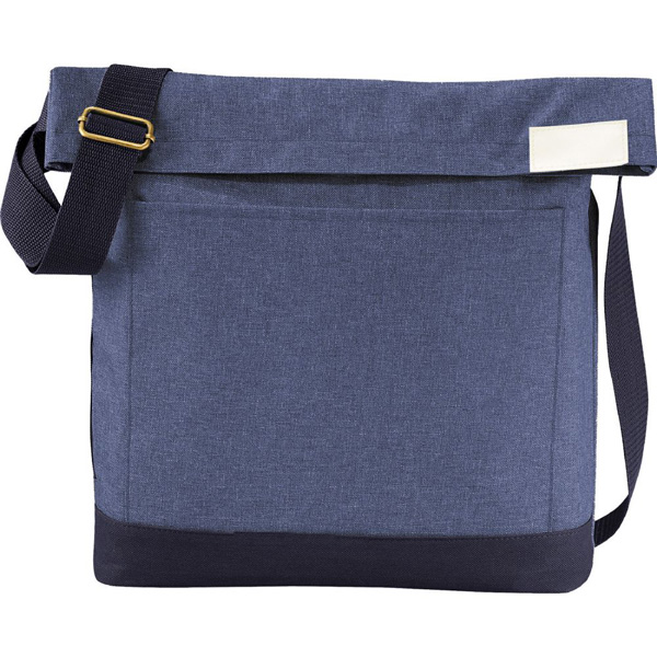 Chambray Foldover Tablet Tote