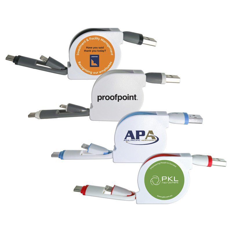 Frame Retractable 3n1 Cable