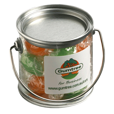 Small Bucket Filled with Boiled Lollies