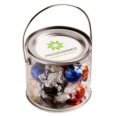 Medium Bucket Filled with Lindt Lindor Balls