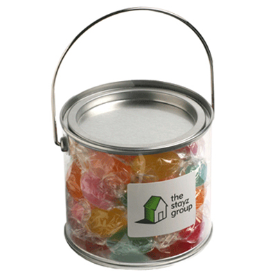 Medium Bucket Filled with Boiled Lollies