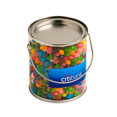 Big Bucket Filled With Jelly Beans