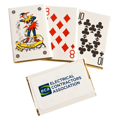 Chocolate Playing Cards Bulk