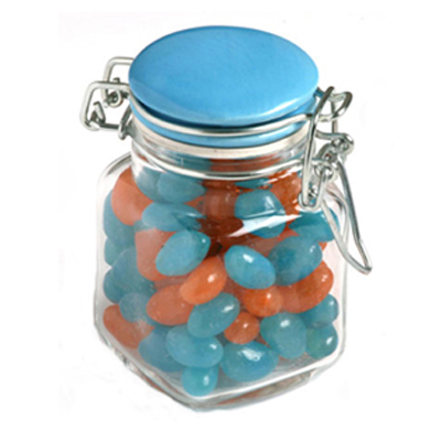 Jelly Beans in Clip Lock Jar 80G