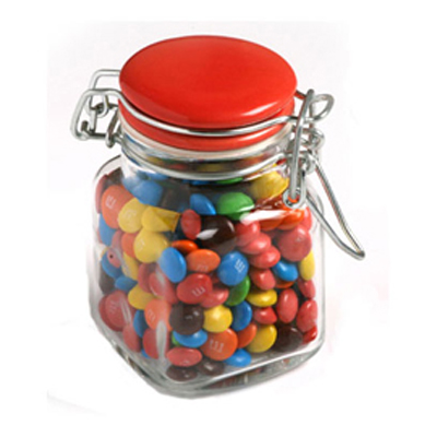 Mini M&Ms in Clip Lock Jar 80G