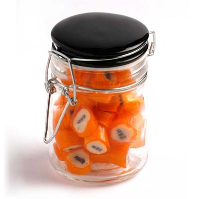 Rock Candy in Clip Lock Jar 125g
