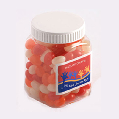 Jelly Beans in Plastic Jar 180G