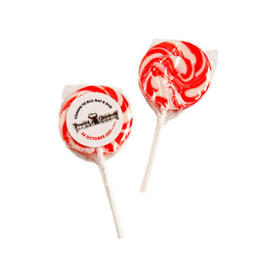 Medium Candy Lollipop - Red