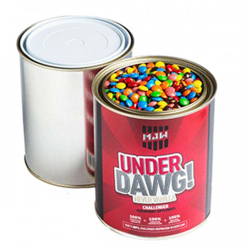 Paint Tin filled with M&Ms 1kg