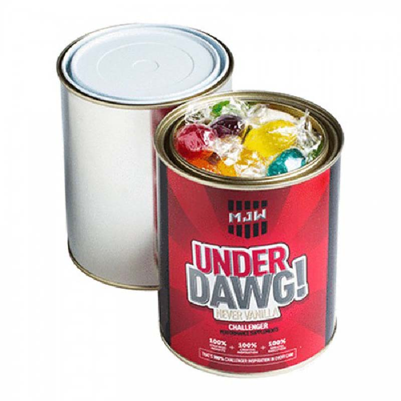 Paint Tin filled with Boiled Lollies 550g