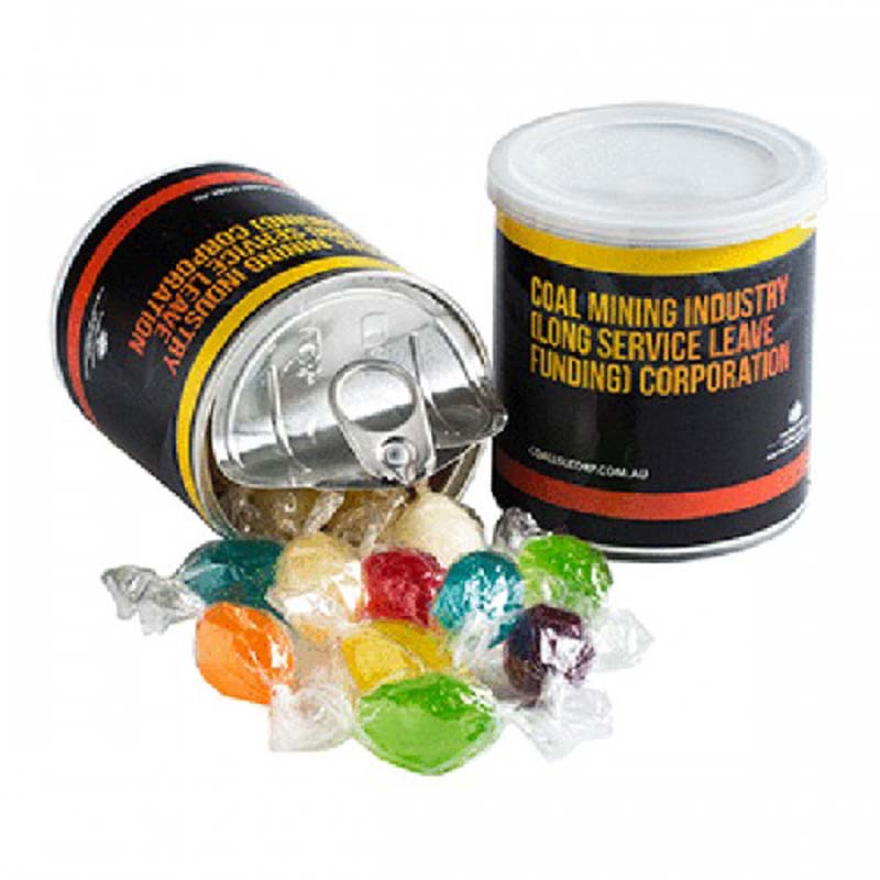 Pull Can with Boiled Lollies