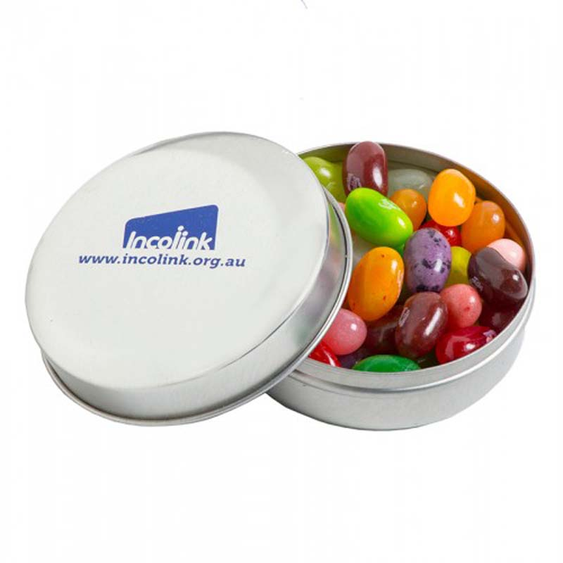 Candle Tin with Jelly Belly Jelly Beans