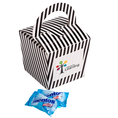 Coloured Noodle Box - Mentos (Mint or Fruit)