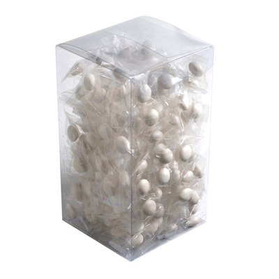 Big PVC Box Filled with Chewy Mints