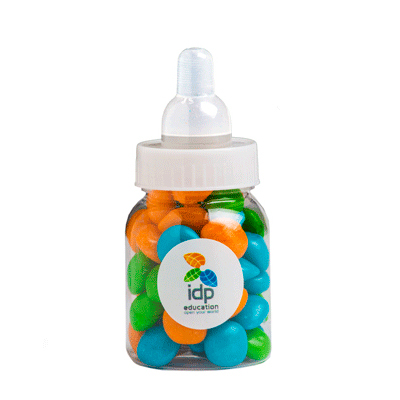 Baby Bottle Filled with Chewy Fruit 50G