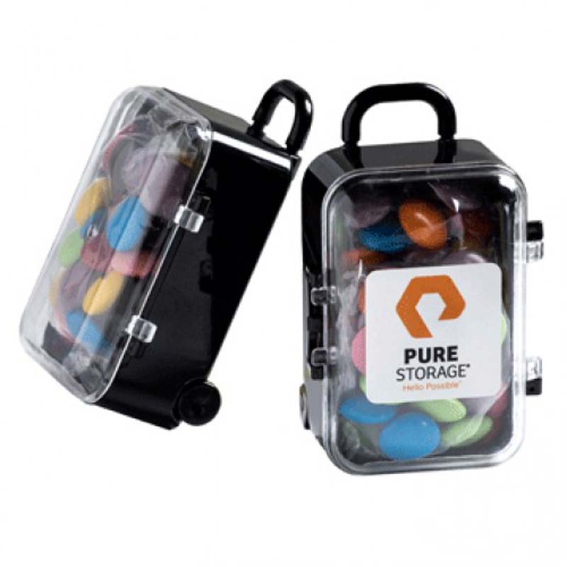 Carry-On Case with Choc Beans 50g
