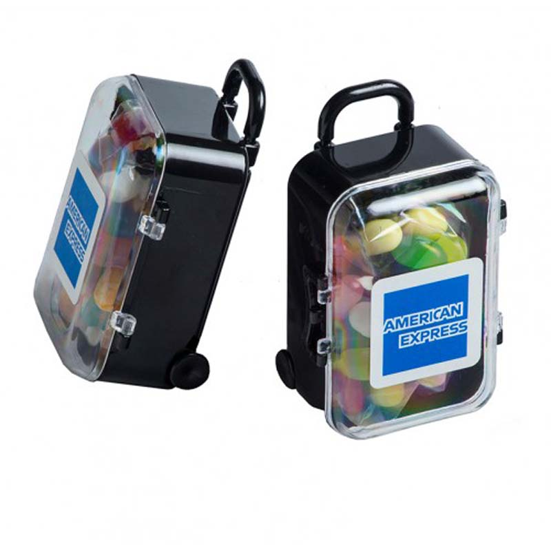 Carry-On Case with Jelly Belly Jelly Beans