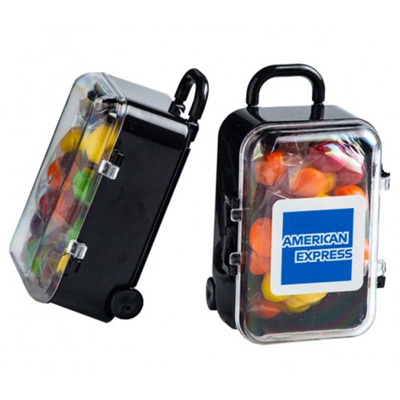 Carry-On Case with Skittles 50g
